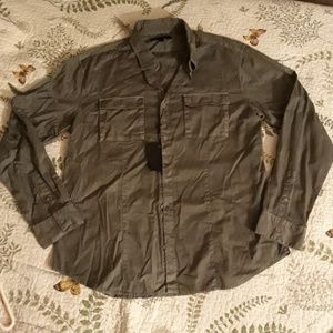 John Varvatos NWT Olive Green Button Shirt